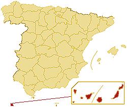ZIP codes Autonomous community Canary Islands