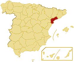 TARRAGONA SPAIN MAP Imsa Kolese