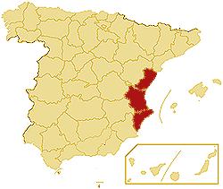 ZIP codes Autonomous community Valencia